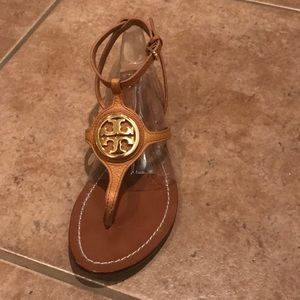Tory Burch tan sandals size 8